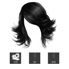 Hair Photoshop Pixelstains 3 Brushes For Painting Hair In Photoshop