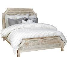 Rustic Reclaimed Wood Aria California King Bed Zin Home Cal Frame ...