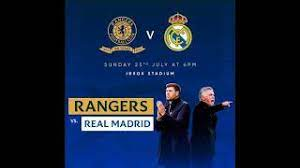 Rangers football club is a scottish professional football club based in the govan district of glasgow which plays in the scottish premiershi. Rangers Friendly Game Vs Real Madrid Youtube
