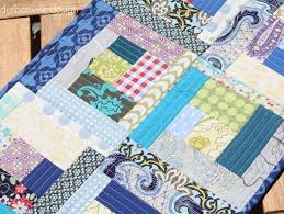 Quilt As You Go Log Cabin Quilt | FaveQuilts.com &  Adamdwight.com