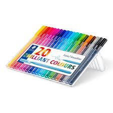 Staedtler Triplus Color Chart Staedtler 338 Triplus Broadliner