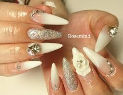 3dネイル ロングスカルプ Nail Salon Rosemind