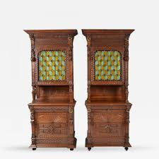 listings furniture case pieces storage cabinets pair antique french