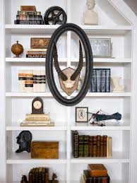 Wall Shelving For Living Room Bookshelf And Wall Shelf Decorating Ideas Hgtv