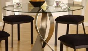 wood glass and dark images room centerpiece round ideas dining simple seater designs basic plans table