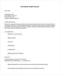 How To Make A Modeling Resume Model Resume Template 100 Free Word Document Download Free 35