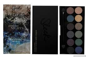sleek makeup i divine eyeshadow palette arabian nights