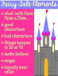 Fairy Tales Elements Anchor Chart Free By Mrs Davidsons
