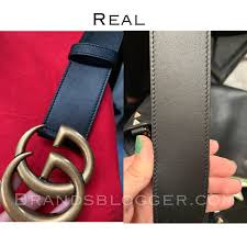 Fake Designer Belts How To Spot A Fake Double G Gucci Belt Brands Blogger
