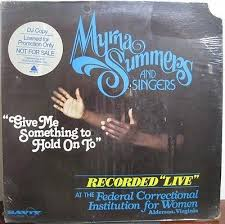 Gripsweat - Myrna Summers-Give Me Something To Hold On To-Rare Black Gospel  LP-Savoy-SEALED