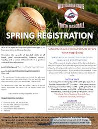 Pony Baseball League Age Chart 2019 Spring Registration