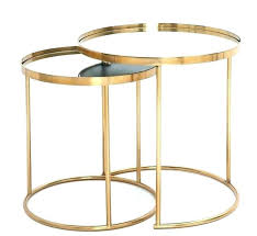 round gold glass coffee table side tables black and gold side table gold side table home