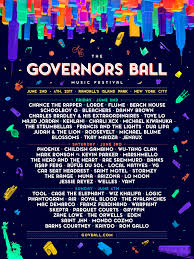 Governors Ball 2017 day-by-day lineups