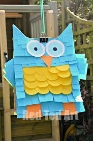 red ted art owl piñata 25 post it note diy ideas