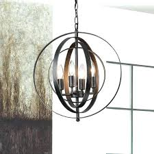 iron wrought chandeliers modern 6 light