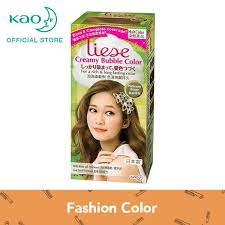 liese creamy bubble color platinum beige