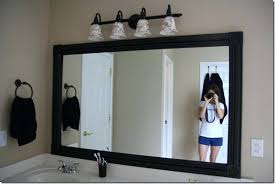 trim around bathroom mirror. Diy Picture Frame Crown Molding Make From Trim Around Bathroom Mirror For Best We A
