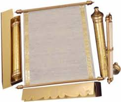 invitations wedding scroll