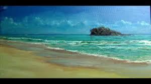 seascape oil painting