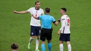 Semi-final scores of England vs Denmark ...