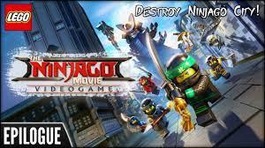 The LEGO Ninjago Movie Video Game (PS4) - Epilogue: Destroy Ninjago City! -  YouTube