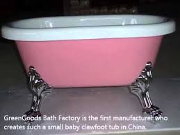baby clawfoot tub baby bathtub