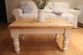 round white shabby chic coffee table starrkingschool intended for round pine coffee tables image
