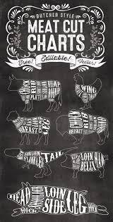 beef cuts diagram poster. Unique Diagram 7 Free Editable Butcher Meat Cut Chart Illustrations Beef Cuts Poster With Diagram R