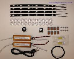 Diy led strip Switch Aquastyle Online 24 Leds Strip Diy Dimmable Kit