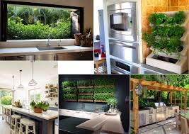 House And Garden Kitchens Minimalist House Indoor Garden Kitchen Inspiration Wilson Rose