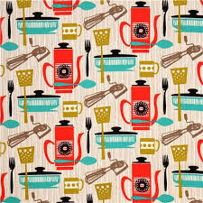 Vintage Kitchen Fabric