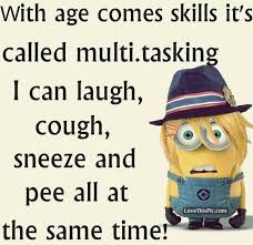 Funny Age Quotes New Funny Minion Quote About Multitasking Pictures Photos And Images
