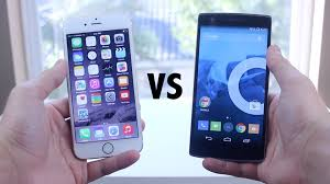 one plus one size iphone 6 vs oneplus one full comparison youtube