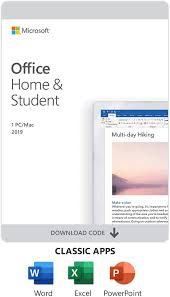 Microsoft Office Home and Student 2019 ...