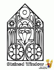 Small Picture Coloring Pages Of Church Windows High Quality Coloring Pages