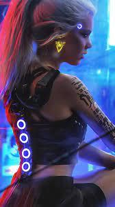 Cyberpunk 2077 Girl 4K Wallpaper #110