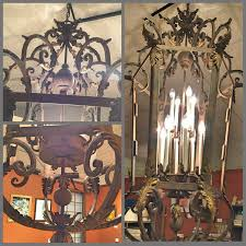acanthus leaf chandelier
