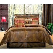 log cabin bedding sets rustic bedding sets delectably yours decor faux leather comforter set cabin quilt log bed rust log cabin style bedding sets