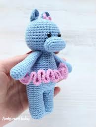 Crochet Hippo Pattern Free