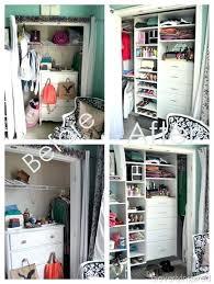 dresser inside closet small for fine