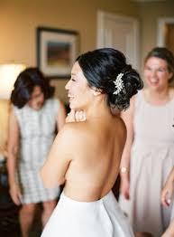 Idée De Coiffure De Mariage Simple Pour Cheveux Noirs Bruns
