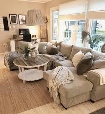 Beige Weiß Grau Daheim Winter Living Room Home Decor