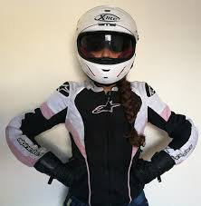 a photograph showing the alpinestars stella t gp plus r air jacket which features maximum