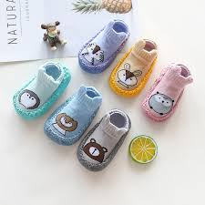 <b>1Pair/lot Autumn</b> & Spring Baby Shoes Socks Cartoon Infant Girls ...