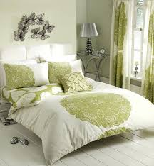 brown and lime green bedding sets elegant bedroom with dark green duvet  cover floral themed queen