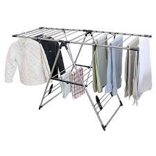 Greenway Home Products X-Large Stainless Steel Fold Away Laundry Rack