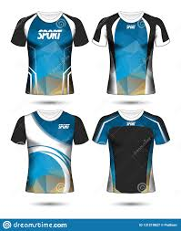 Sports T Shirt Design For Girls Set Of Soccer Sport T Shirt Layout Design Poly Template And