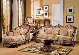 Living room furniture sets 2014 Wooden Sofa Small Traditional Elegant Living Room Furniture Set Betterthanslicedbread Small Traditional Elegant Living Room Furniture Set Homescornercom