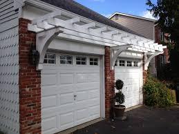 image of pergola over garage door kits