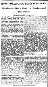 rain of ruin how the guardian reported the dropping of the how the atomic bomb was born manchester men s part in fundamental discoveries